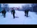 в/ч 49324 рота охраны уборка снега часть2(2013г)