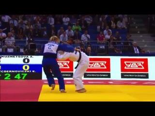 2014 World Championships Chelyabinsk (-48kg Repechage) KUZNETSOVA Alesya (RUS) - CSERNOVICZKI Eva (HUN)