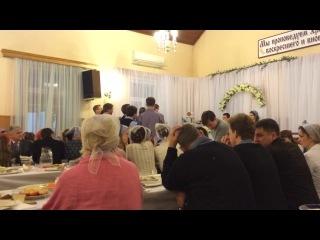 Свадьба Никиты и Кати. Поздравление молодежного Питерского хора