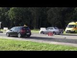 VW Golf 6 GTI vs Nissan Skyline GT-R GTR r32