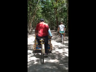 Дорога до пирамиды Кукулькан / Мексика