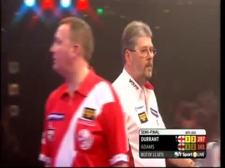 Martin Adams vs Glen Durrant (BDO World Darts Championship 2015 / Semi Final)