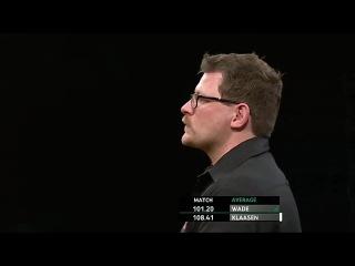 James Wade vs Jelle Klaasen (Players Championship Finals 2014 / Round 1)