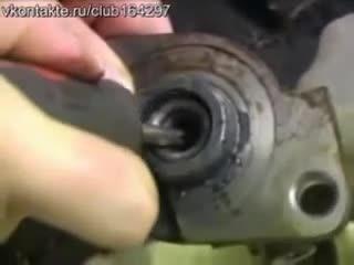 ВАЗ - Замена главного тормозного цилиндра 2111.