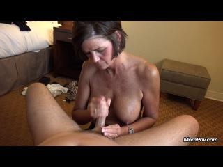 [mompov] tessa - southern milf gets a proper facial (e 247/bonus video) [720p/19.09.2014 г., pov,milf,brunette,titty fuck,oral,ball licking,cum on face]