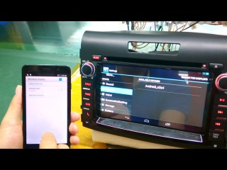 Newsmy CarPAD2(Android4.4.2 Car DVD) for HONDA CRV2012--Miracast Function