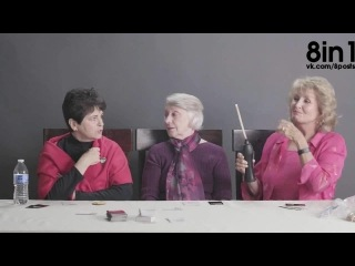 Три бабушки впервые в жизни курят траву марихуану / Grandmas Smoking Weed for the First Time (Extended Cut)
