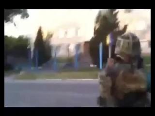 ПОЛНАЯ ВЕРСИЯ РАСТРЕЛА РО милиции.  Луганская область