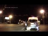 Лунтик, Губка Боб, белка и Микки Маус избили водителя!