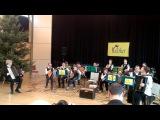 Чардаш - венгерский народный танец. Ансамбль Балалайка (Центр Колибри, Дрезден, Германия)