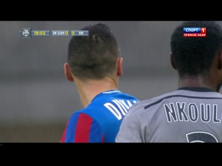 Чемпионат Франции 2014-2015 / 9-й тур / Кан - Марсель / 1 тайм [720p, HD]