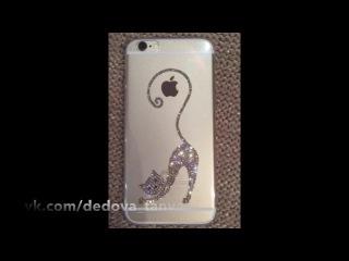 iPhone 6 Gold💎 чехол с кристаллами Swarovski для Людочки