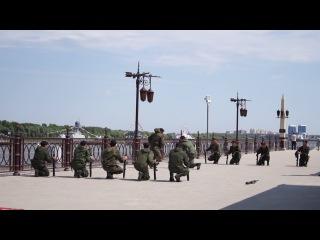 Морская пехота. День ВМФ Астрахань 2014.