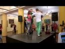 Афролатин коннекшен схема танца в ограниченном пространстве