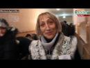 Луганск. Люди готовы стоять до полуночи и в холоде ради будущего (03.11.14)
