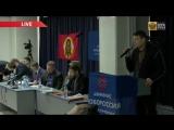 Евгений Алексеевич Фёдоров на конференции движения Новороссия (24.01.15)