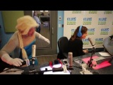 Idina Menzel brings some holiday cheer to Elvis Duran and the Morning Show