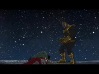 Мстители против Таноса часть 2