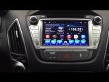 Видео работы магнитолы Hyundai IX-35 Android 4.2.2