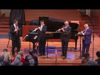 Антонин Рейха - Квартет для 4-х флейт ре мажор, op.12 II. Andante