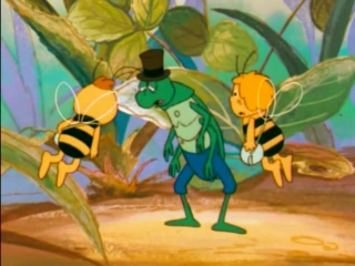 Пчелка Майя - 1 сезон 24 серия - Майя ищет лес (Приключение в незнакомом лесу)