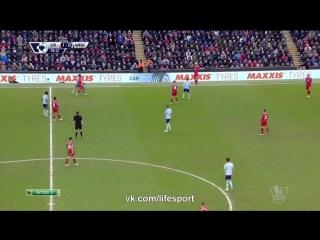 Ливерпуль 2:0 Вест Хэм   Английская Премьер Лига 2014/15   23-й тур