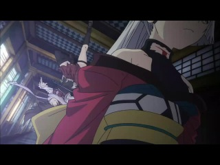 Тринити Семеро магов 11 серия  Trinity Seven 7-Nin no Mahoutsukai (Русская озвучка Mensh)