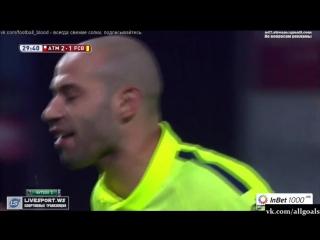Кубок Испании / Атлетико 2-3 Барселона / Обзор / Голы / 28.01.2015