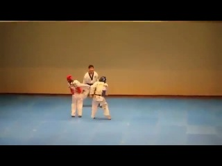 Taekwondo Match Turns Into a Dance Battle - AFV