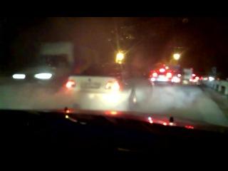 BMW страсть жженные шины красава Раф Клавди гонкипробки ночь