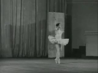 Екатерина Максимова. Чайковский, Щелкунчик, Вариации Феи Сахара - 1957