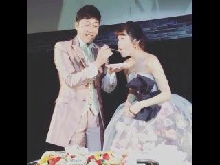 Ai Takahashi & Kouji Abe wedding party