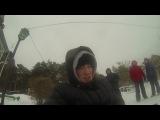 нереальный экстрим со снегом в лицо)