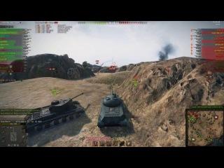 Отличный бой на китайском тяже WZ111 1-4, 7к урона