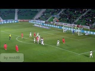 Mathieu nice free kick [ vk.com/nice_football ]