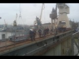 спуск заказа 22350 Адмирал Касатонов