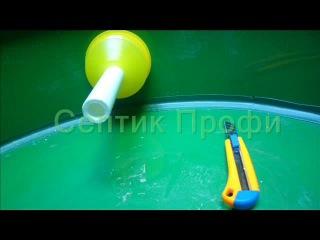 Бетонный и пластиковый кессон для скважины в сравнении