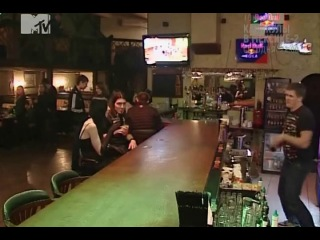 Канал MTV в клубе Кельт. Передача Бешеные предки.