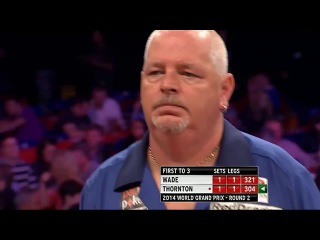 James Wade vs Robert Thornton (World Grand Prix 2014 / Second Round)