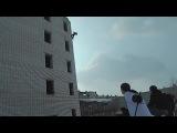 Отчаянное и крутое сальто с 5 этажа в сугроб, Рома Николаев, паркур