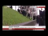 Мушкетёры уже не те...Французский спецназ штурмует горку...А уже потом - террористов.