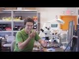 Живое видео работы смартфона Google Ara
