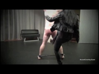 Asian Cruelty - A Brutal Ballbusting