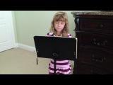 Angie singing to grandparents