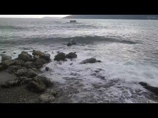 Адриатическое море, побережье Херцег Нови, Черногория.