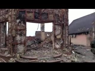 Углегорск / Последствия штурма / опубликовано 04.02.15