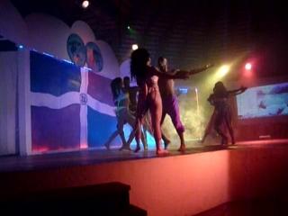История Доминиканы в танцах(вечернее шоу) 23.01.2015