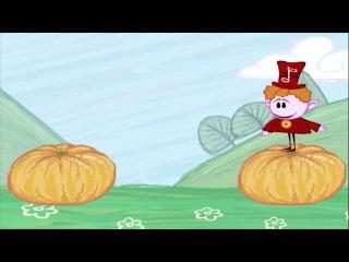 Весёлые Нотки -- Музыкальные мультфильмы для малышей BabyFirstTV - мультик 1