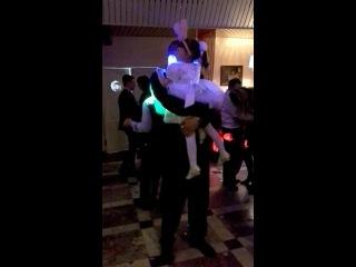 Карина с дедушкой, милый танец, мои самые любимые*****