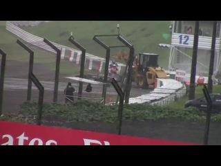 Формула-1: Кошмарная авария Жюля Бьянки на Гран-при Японии